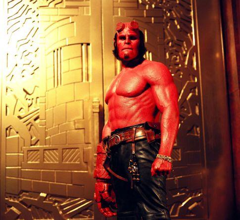 Hellboy sans cornes